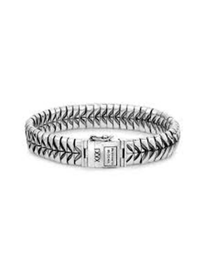Buddha to Buddha Buddha to Buddha 064 Komang Bracelet Silver - Maat E - 19cm