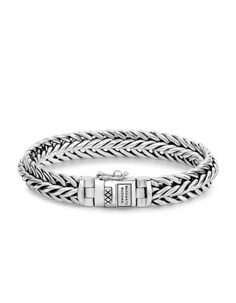 Buddha to Buddha BtoB 065 E Nurul Bracelet Silver - Maat E - 19CM