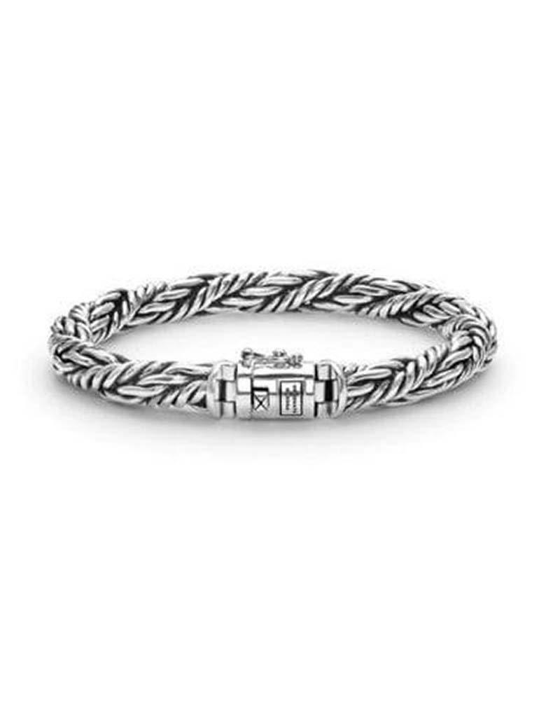 Buddha to Buddha Buddha to Buddha 077 Ketut zilveren armband - Maat E - 19cm