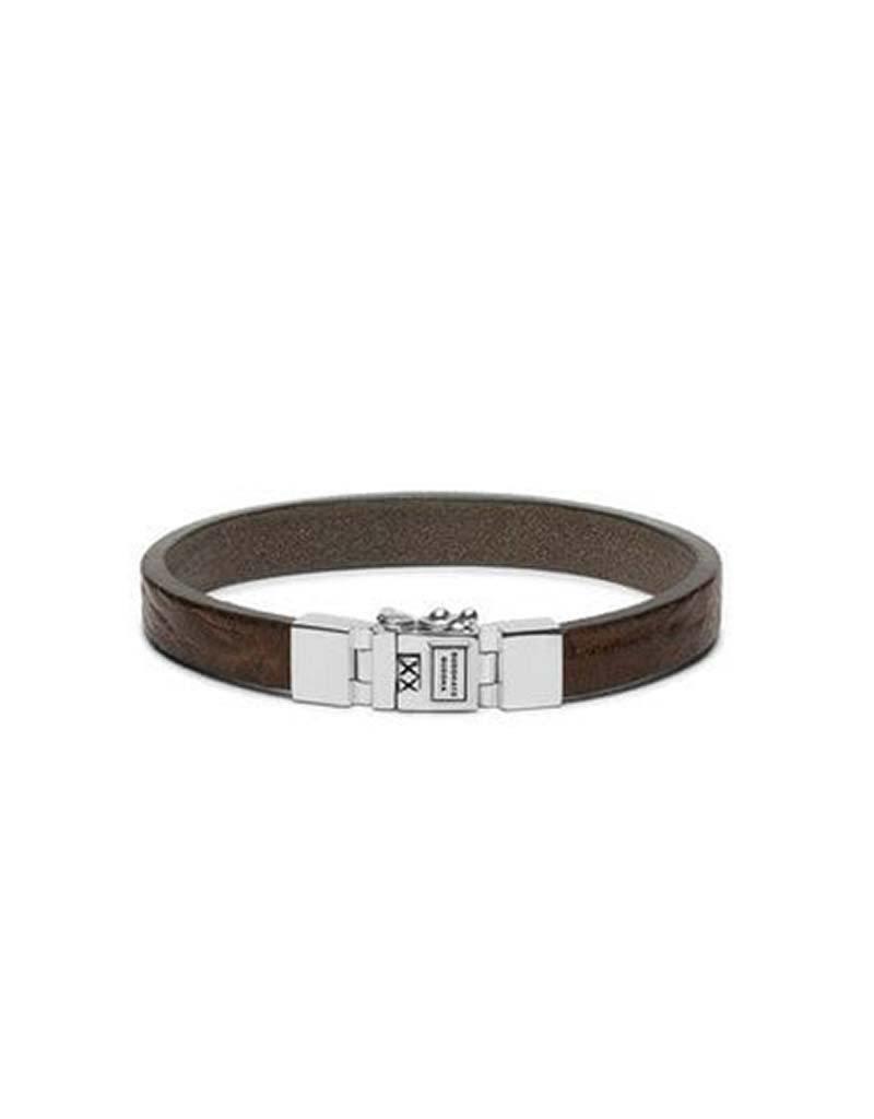 Buddha to Buddha Buddha to Buddha 186SA Essential Leather Smooth Sand armband - Size E -  19CM