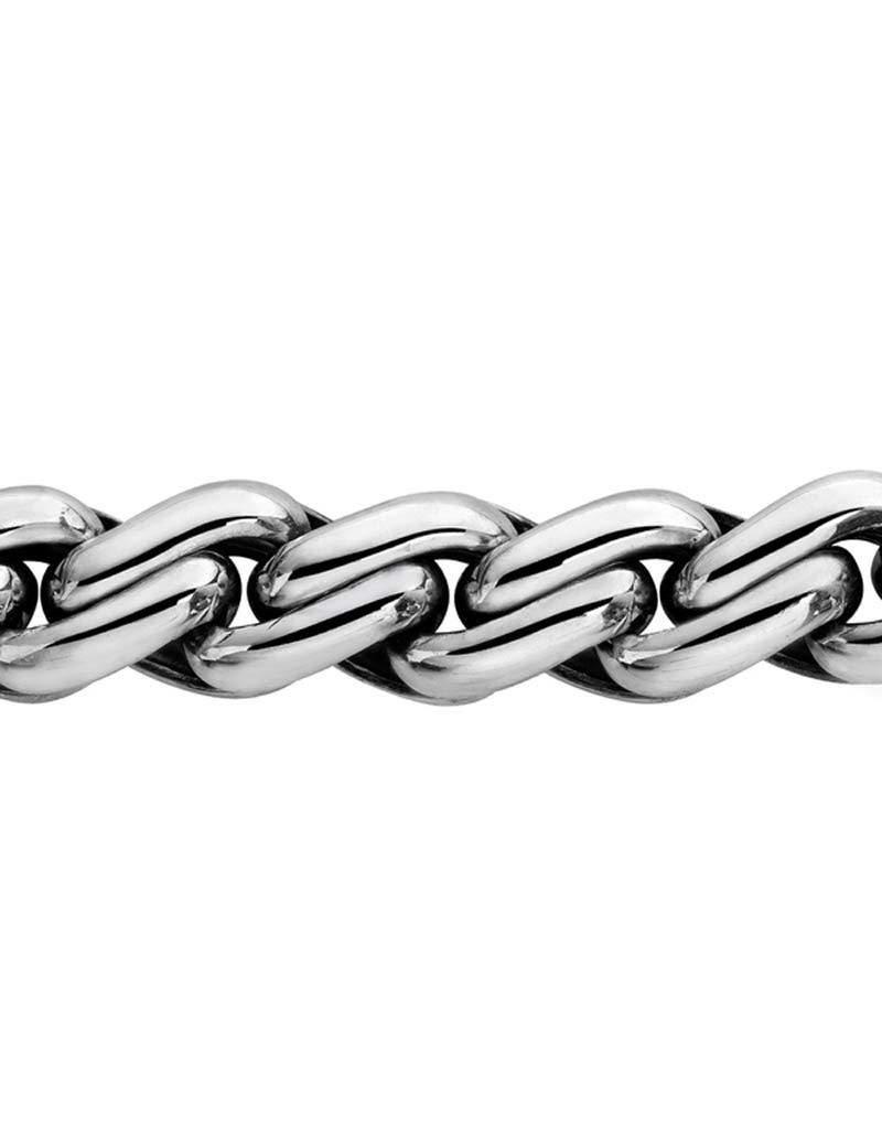 Buddha to Buddha Buddha to Budhha - 229 -  Carmen Medium Bracelet Silver - Maat E - 19cm