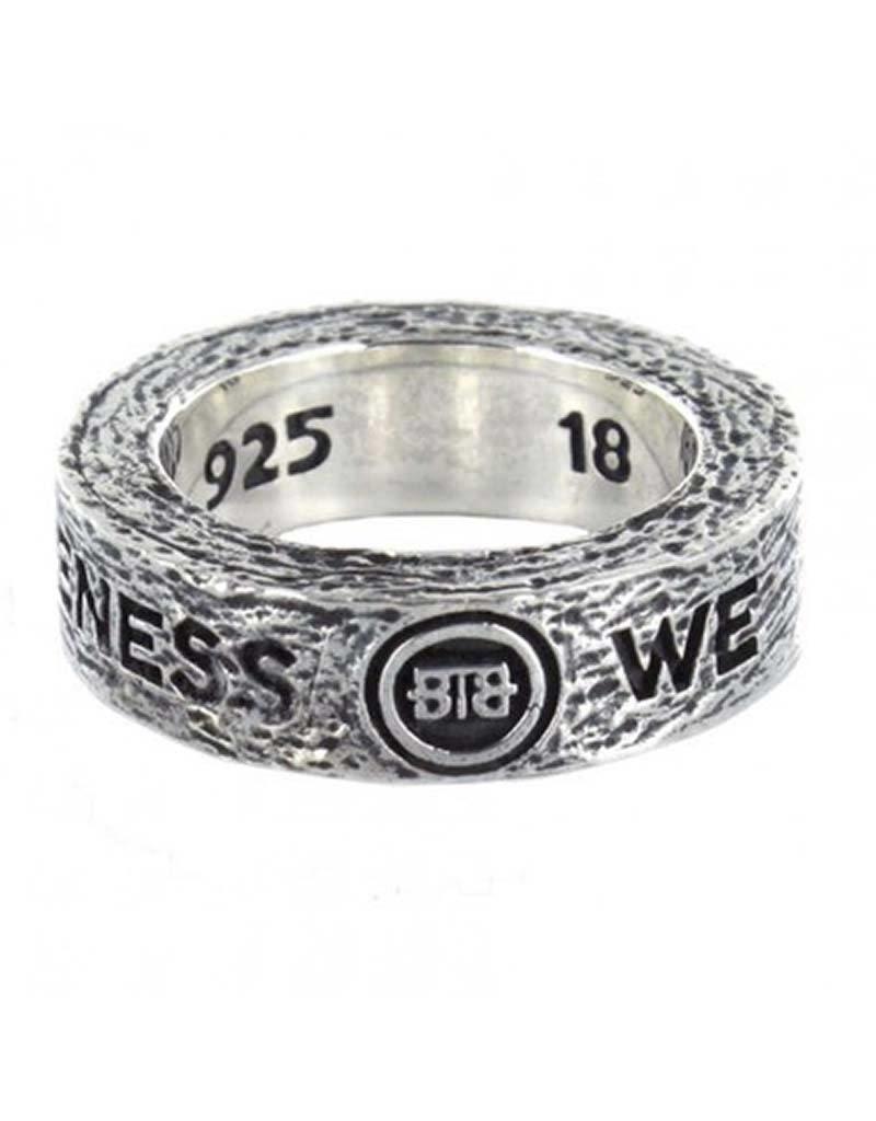 Buddha to Buddha Buddha to Buddha - 727 Spijkers Ring - Maat 19.00 mm (60)