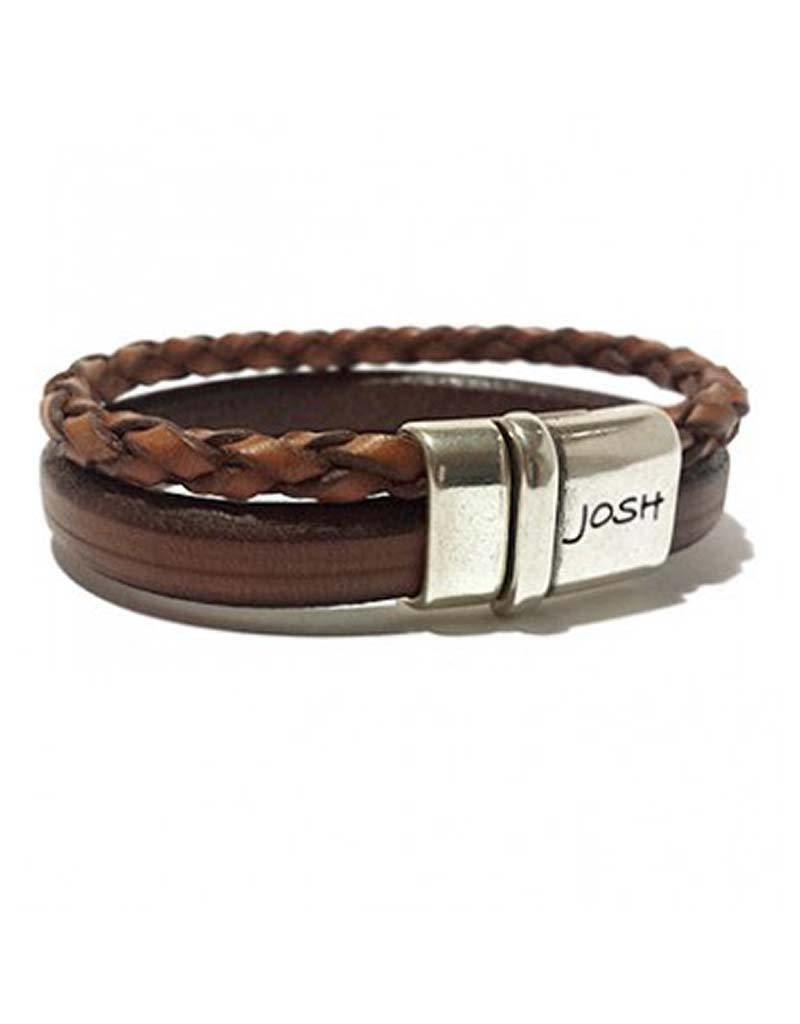 Josh Josh - 9110 cognac 21cm - Armband