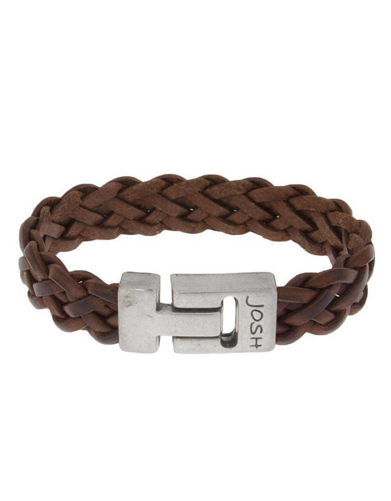 Josh Josh - 24311 Zwart 23cm - Armband