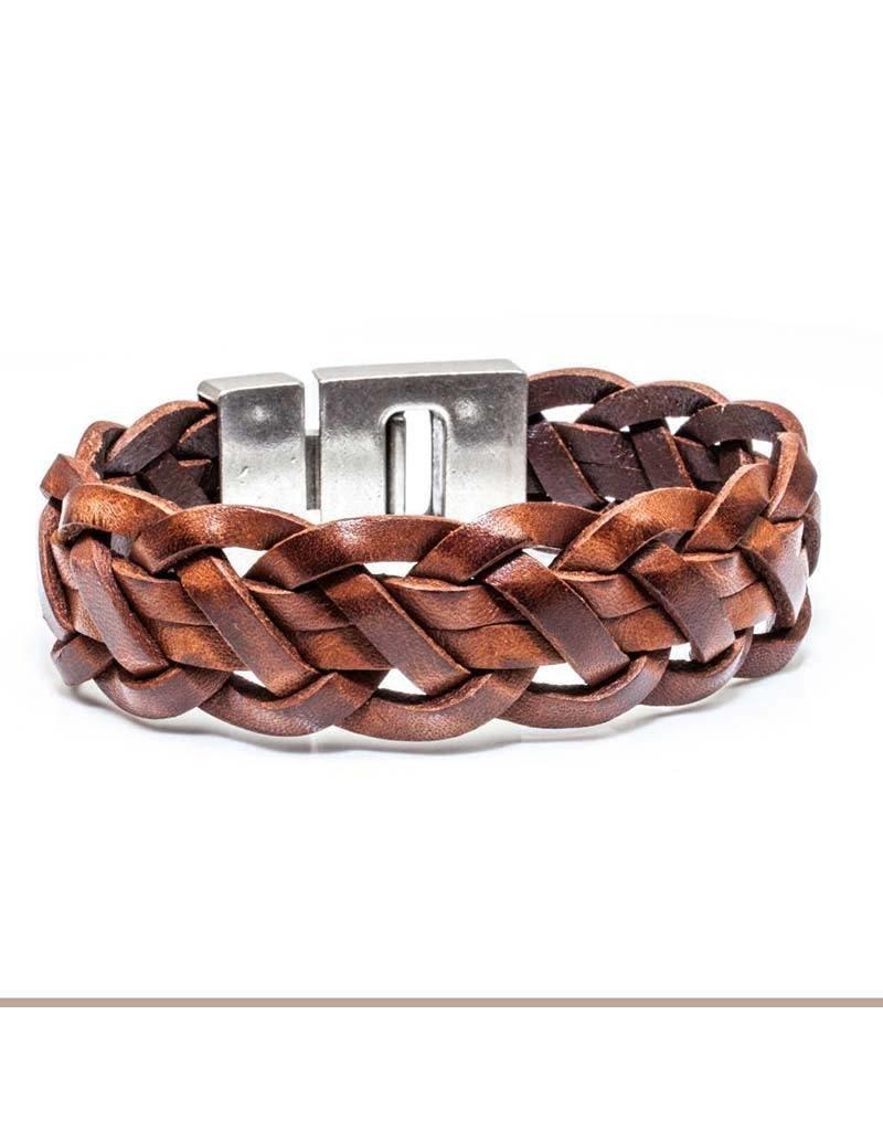 Josh Josh - 24431 Cognac 21cm - Armband
