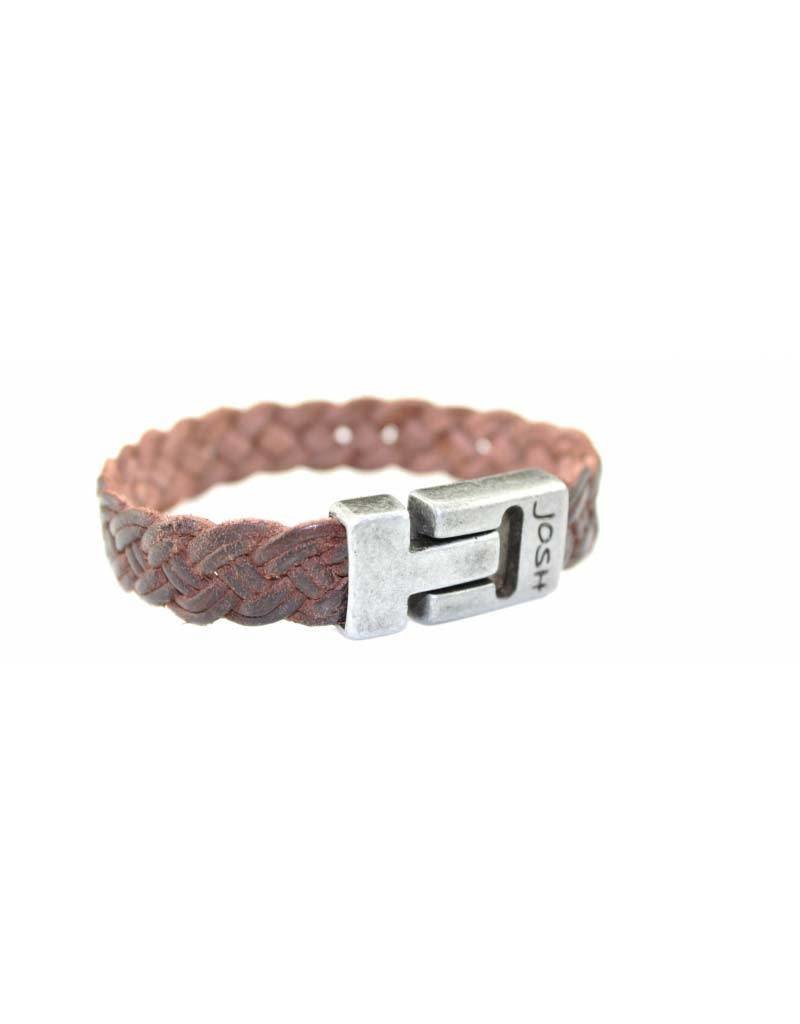 Josh Blinckers - 24639 Bruin 21cm - Armband