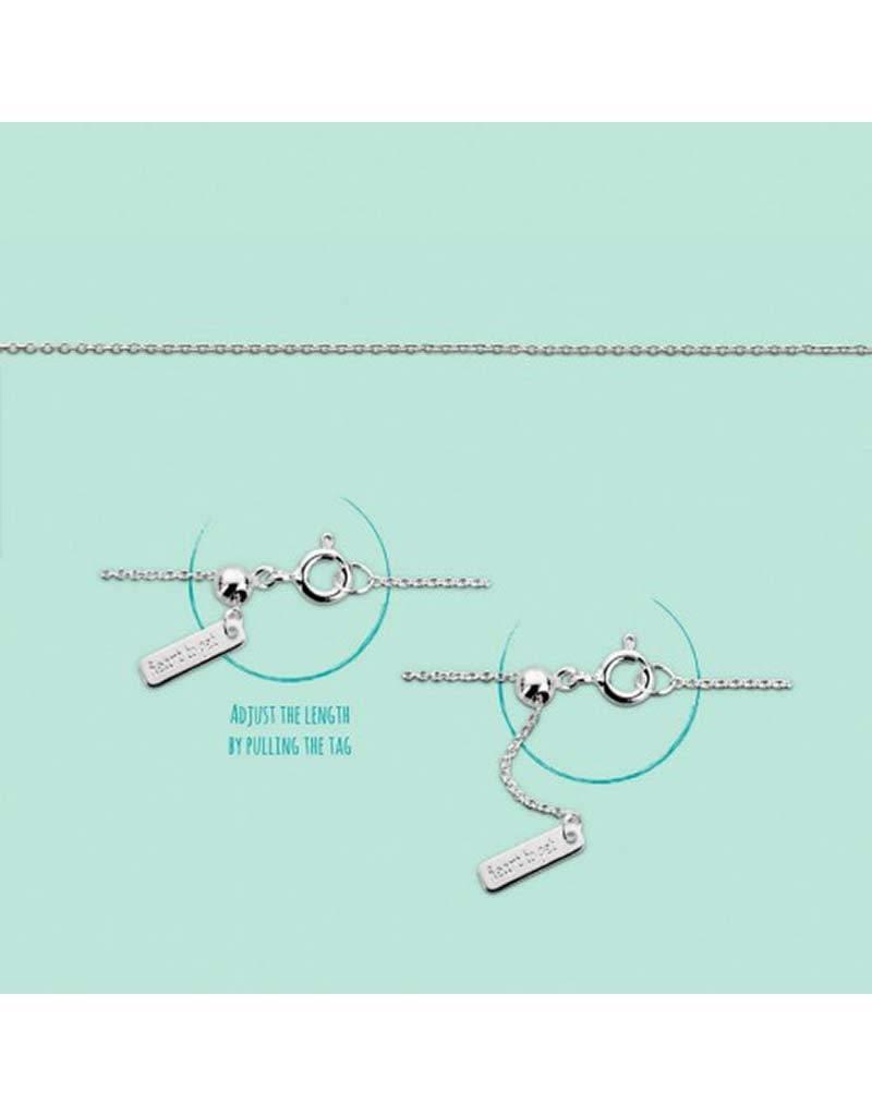 Heart to get - B231ADJ14S - Armband Adjustable Silver