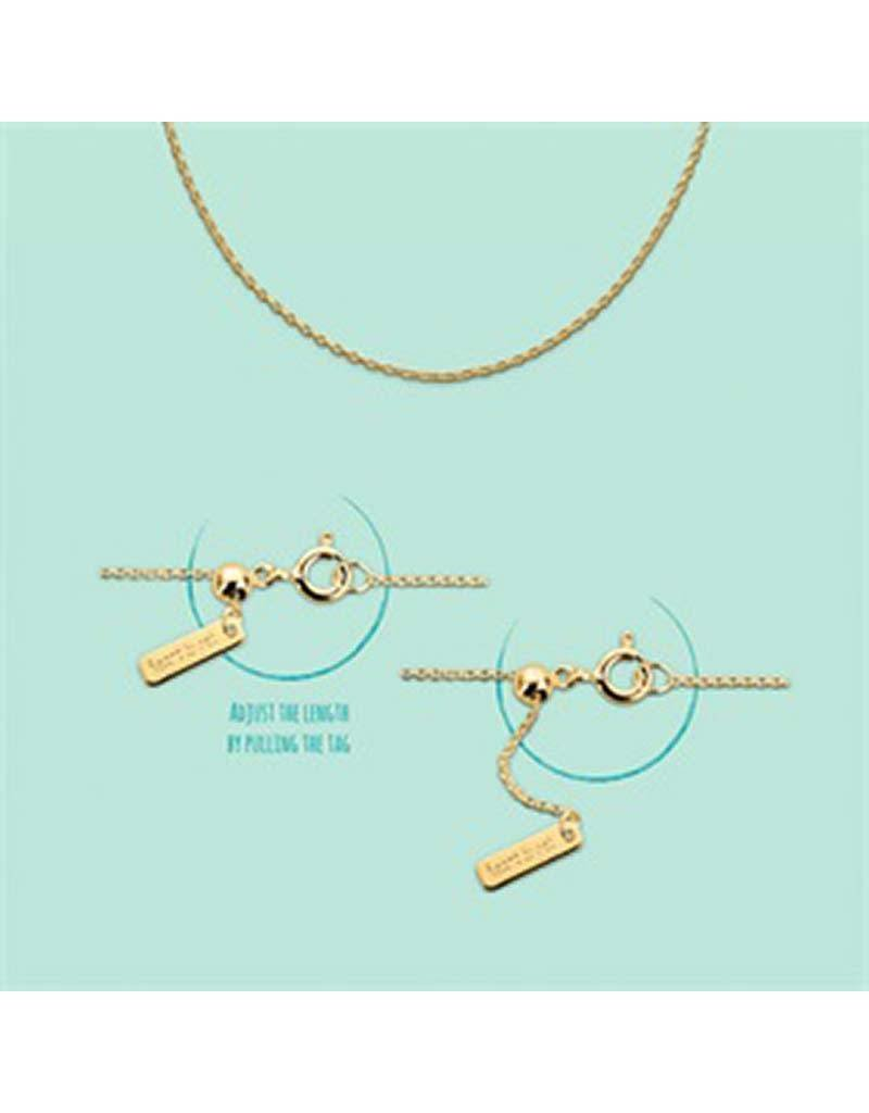 Heart to get Heart to Get  -  Heart For Initials C230ADJ14G -  chain, adjustable, gold - gold - Hanger