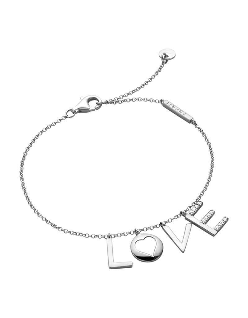 Esprit Esprit - ESBR00231118 - ES Amory Bracelet - SS 925