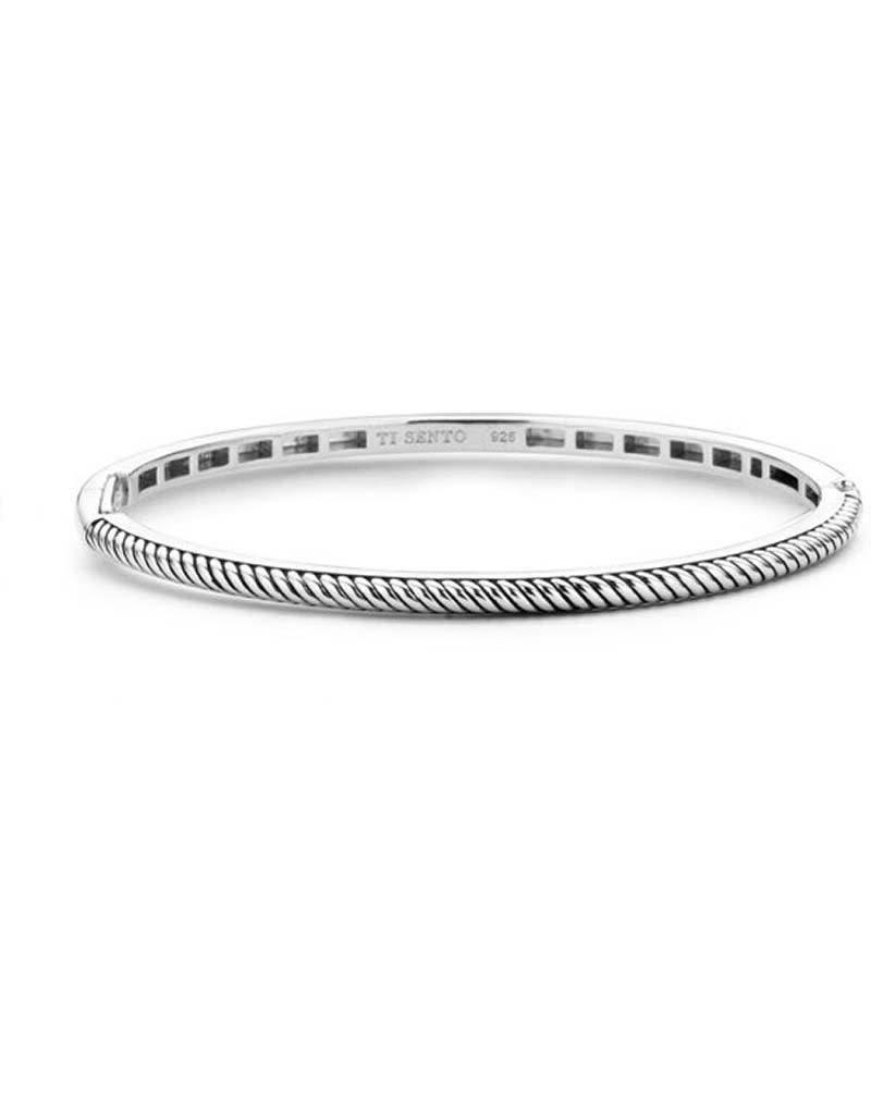 Ti Sento Milano TI SENTO - Milano Armband 2874ST - gerhodineerd zilver