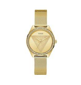 Guess Guess W1142L2 Horloge Dames Staal Goud Kleurig