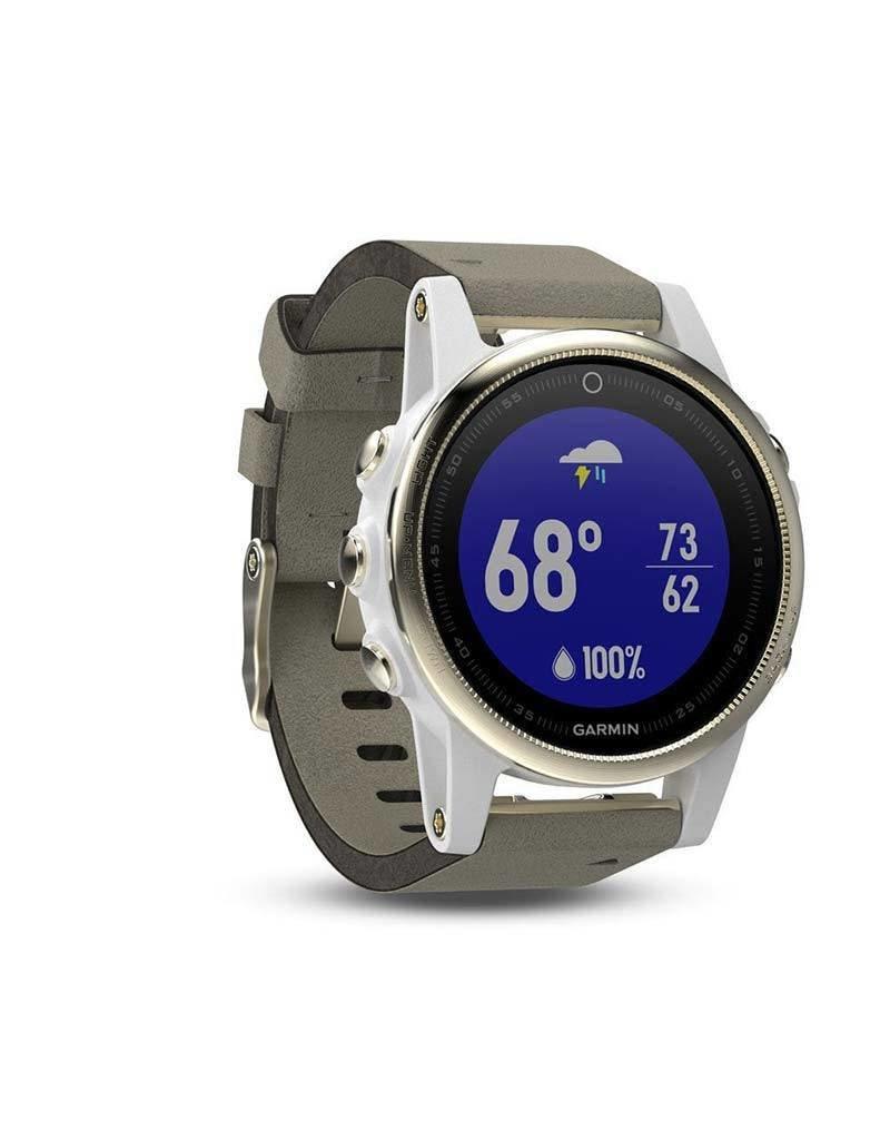 Garmin Garmin - 010 - 01685 - 13 - Fenix 5s Sapphire Smartwatch