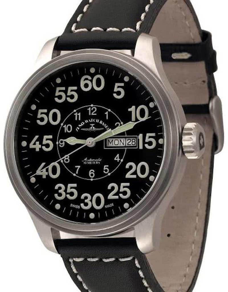 Zeno-Watch Basel Zeno - Watch Herenhorloge - OS Pilot Observer Day Date - 8554DDOB - a1