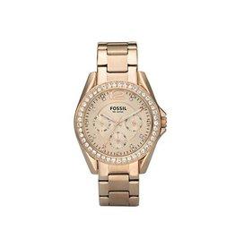 Fossil Fossil ES2811 Dames horloge Rosé
