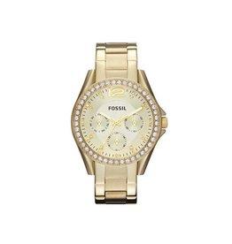 Fossil Fossil ES3203 Dames horloge Gold