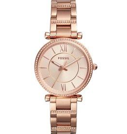 Fossil Fossil ES4301 Horloge dames Rosé