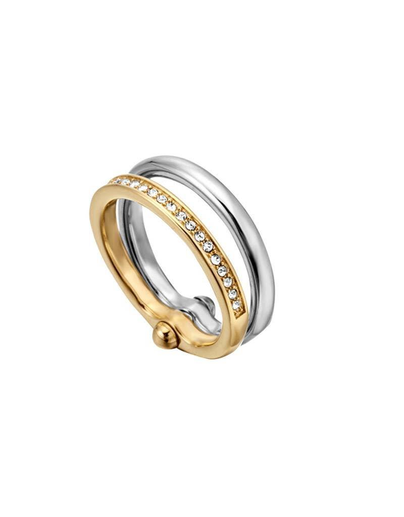 Esprit Esprit - ESRG000822 ES Tara Ring - T/T YG SS - Maat 18.00 mm (57)