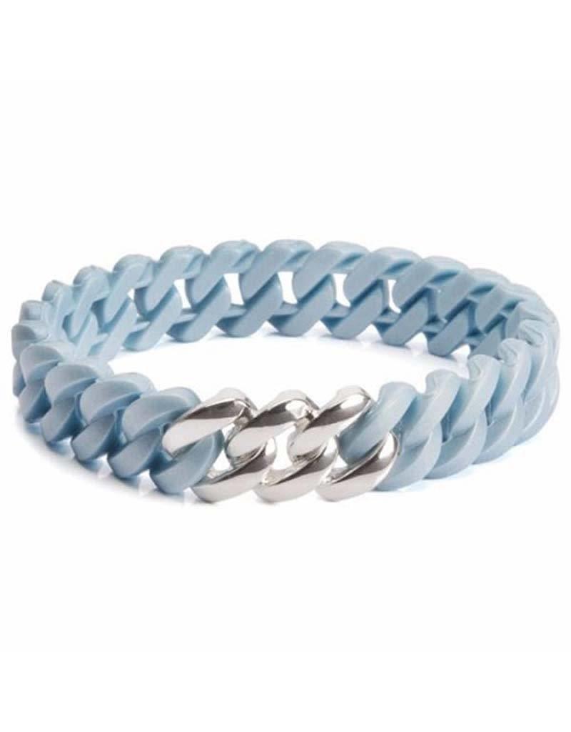 Rubz The Rubz - 100477 - Bleu Platin silver Armband