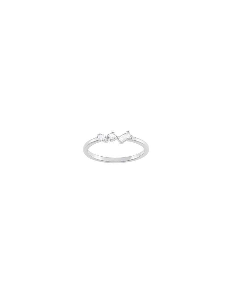 Swarovski Swarovski - 5351767 Frisson White Ring  - Maat 17.50 mm (55)