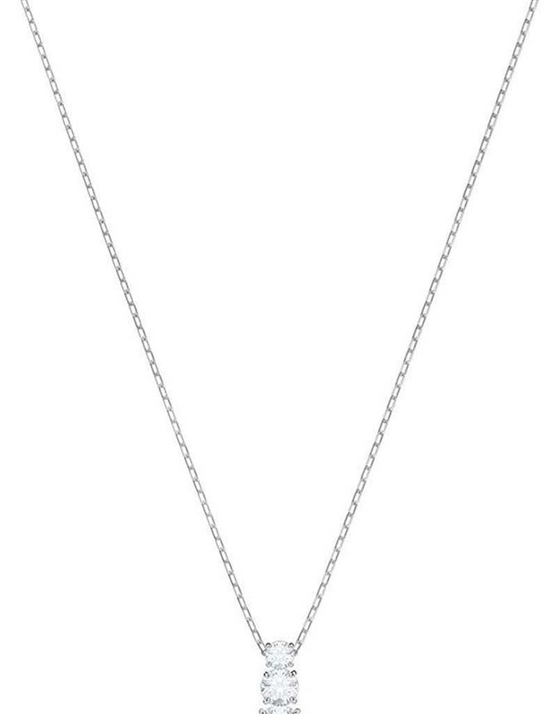 Swarovski Swarovski 5414970  Attract Trilogy pendant round silver