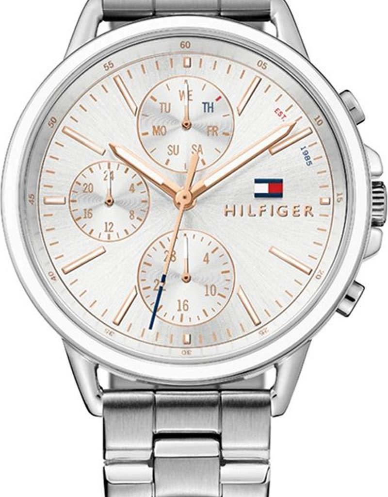 Tommy Hilfiger Tommy Hilfiger TH1781787 horloge dames - zilver - edelstaal