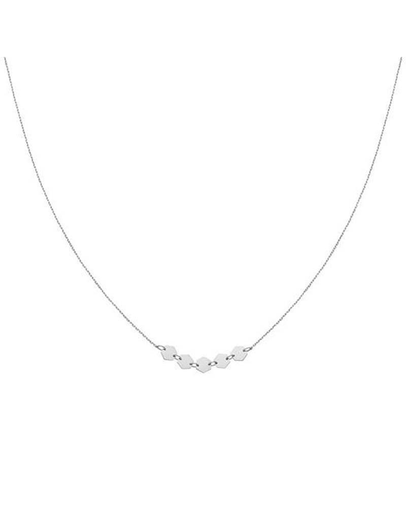 Cluse Cluse - Essentielle Silver Hexago CLJ22001