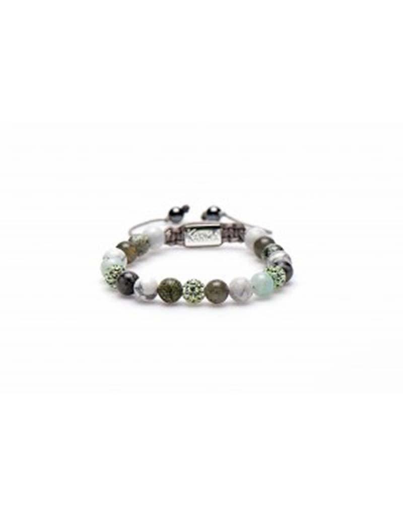 Karma Karma - 85211 - Spiral Passion for Lime M (light green crystal)
