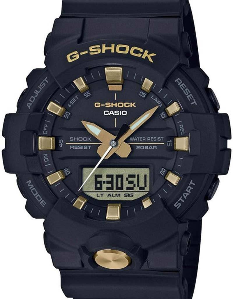 Casio Casio GA-810B-1A9ER horloge heren - zwart - kunststof