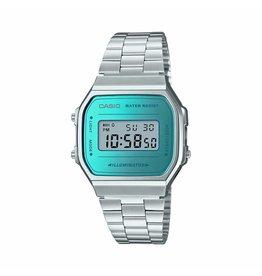 Casio A168WEM-2EF  Retro Mirror Face horloge