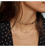Cluse CLJ20003 Cluse Essentielle All Hexagons ketting  rose