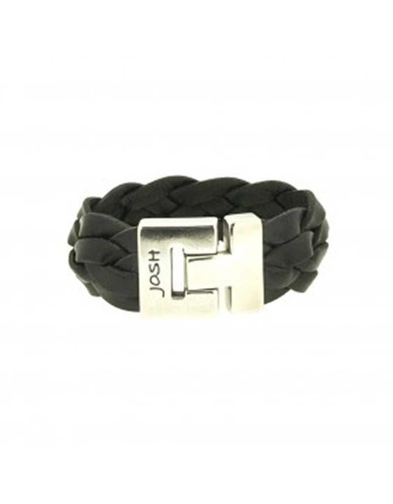 Josh Josh - 24352 Zwart 21cm - Armband