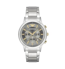 Armani Emporio Armani AR11047 Horloge Chrono staal