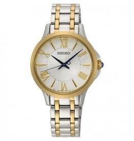 Seiko Seiko horloge dames bicolor SRZ526P1