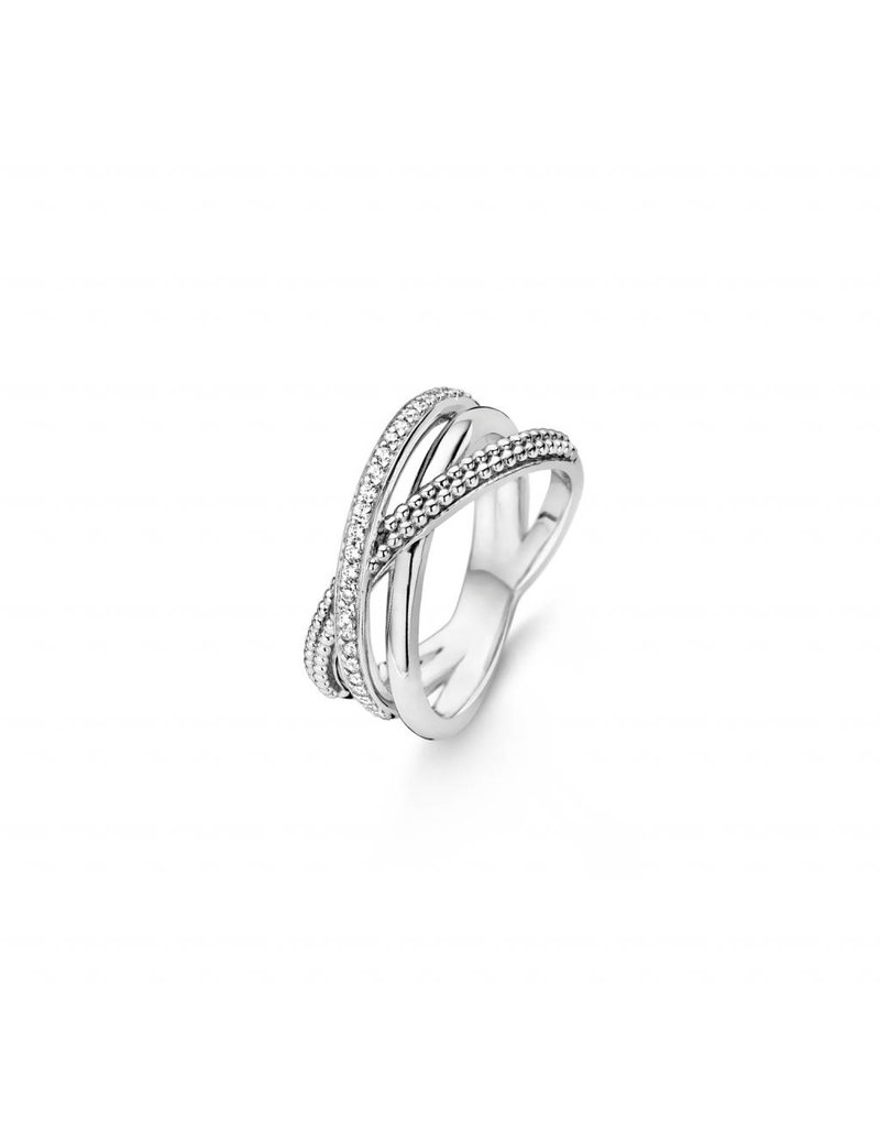 Ti Sento Milano Ring 12022ZI - Maat 56 (17,75 mm) - Gerhodineerd Sterling Zilver