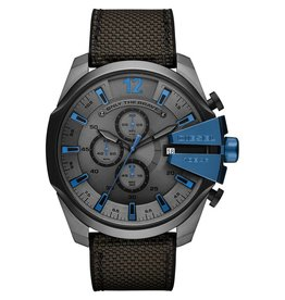 Diesel Diesel horloge chrono staal DZ4500