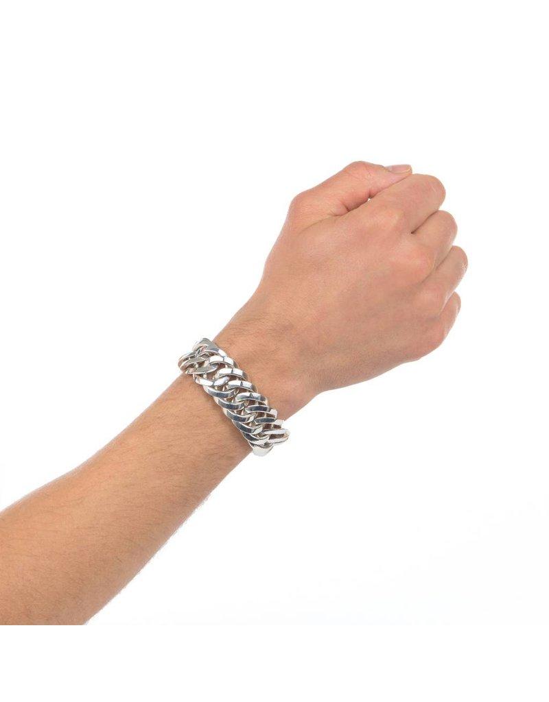 Buddha to Buddha  080 Chain Big Armband -Maat 19CM