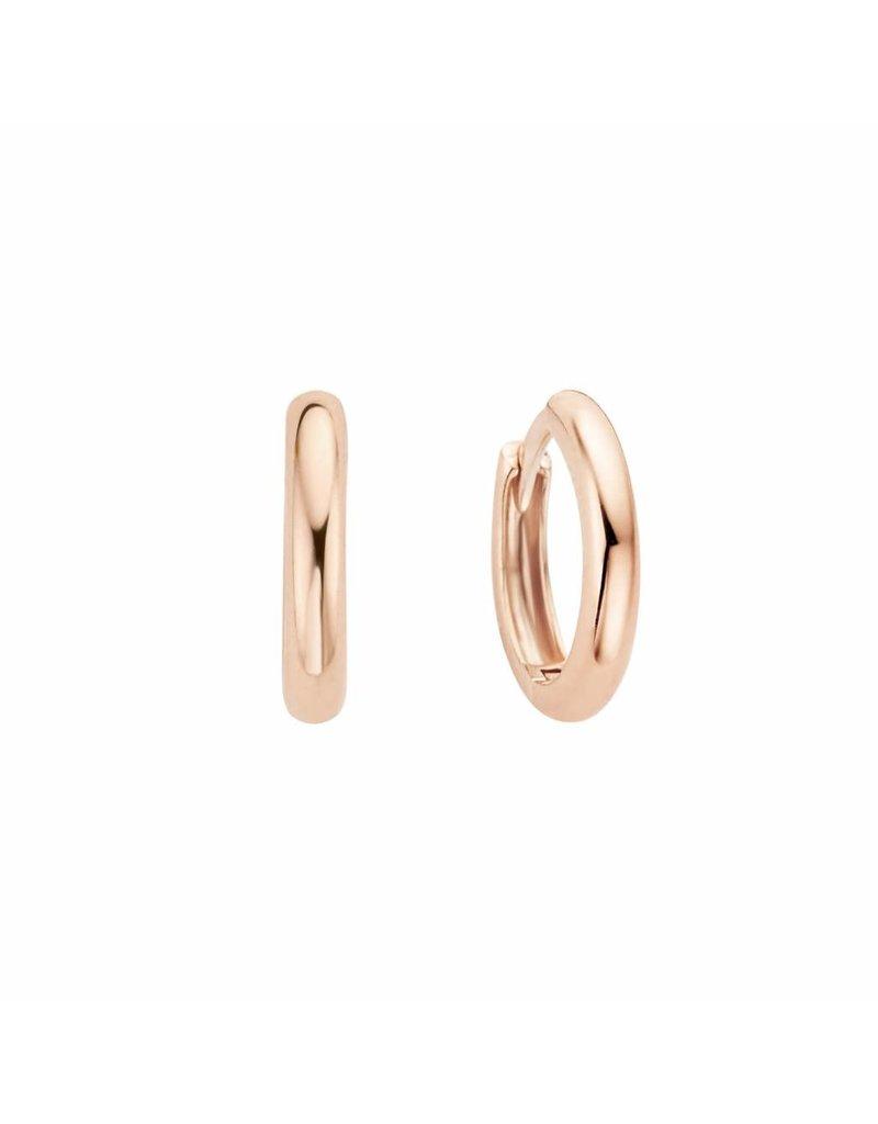 Blush 7203RGO - oorbellen - 14krt rose goud