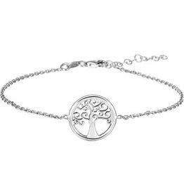 Huiscollectie - Zilver Kasius 13.27136 armband zilver boom 17-20 cm