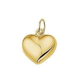 Huiscollectie - Goud Kasius 40.18473 bedel hart 14krt goud