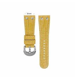 TW Steel TWB77 26 mm horlogeband leer croco camel