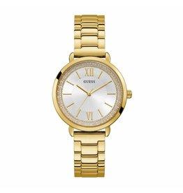 Guess Guess W1231L2 Horloge dames staal goudkleurig