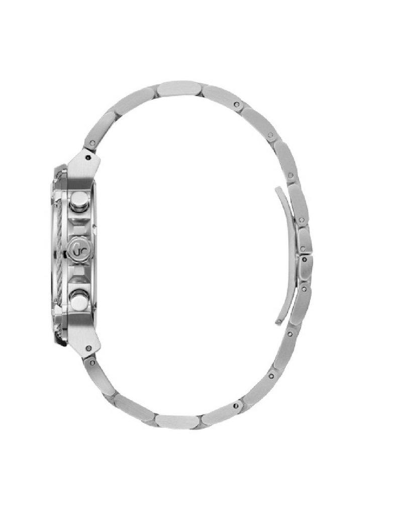 GC Gc Watches - Y24003G2 - Horloges - Heren - RVS - Zilverkleurig - 44 mm