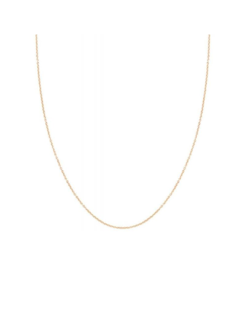 Blush ketting 3046RGO  Rosé Goud (14Krt.) - 42CM