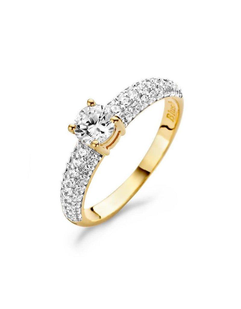 Blush Blush - 1135YZI gouden ring met zirkonia  - Maat 17.25 mm (54)