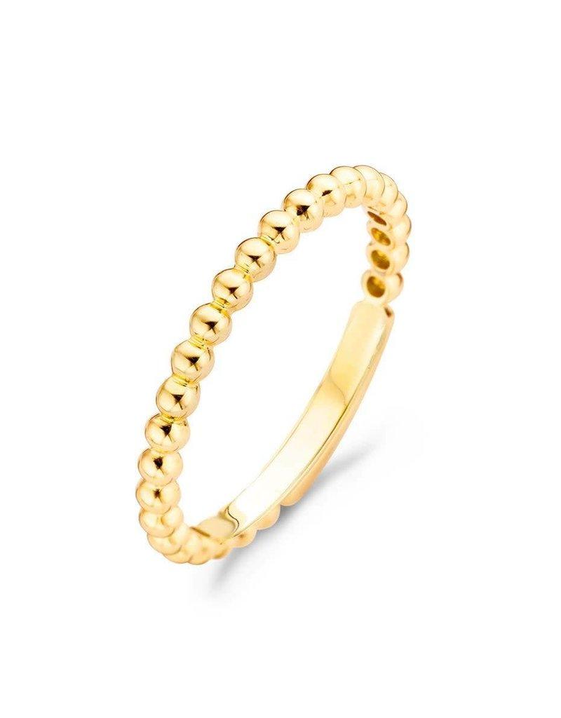 Blush Blush 1105YGO/54 ring mt 54(17.25)  Geel Goud (14Krt.)
