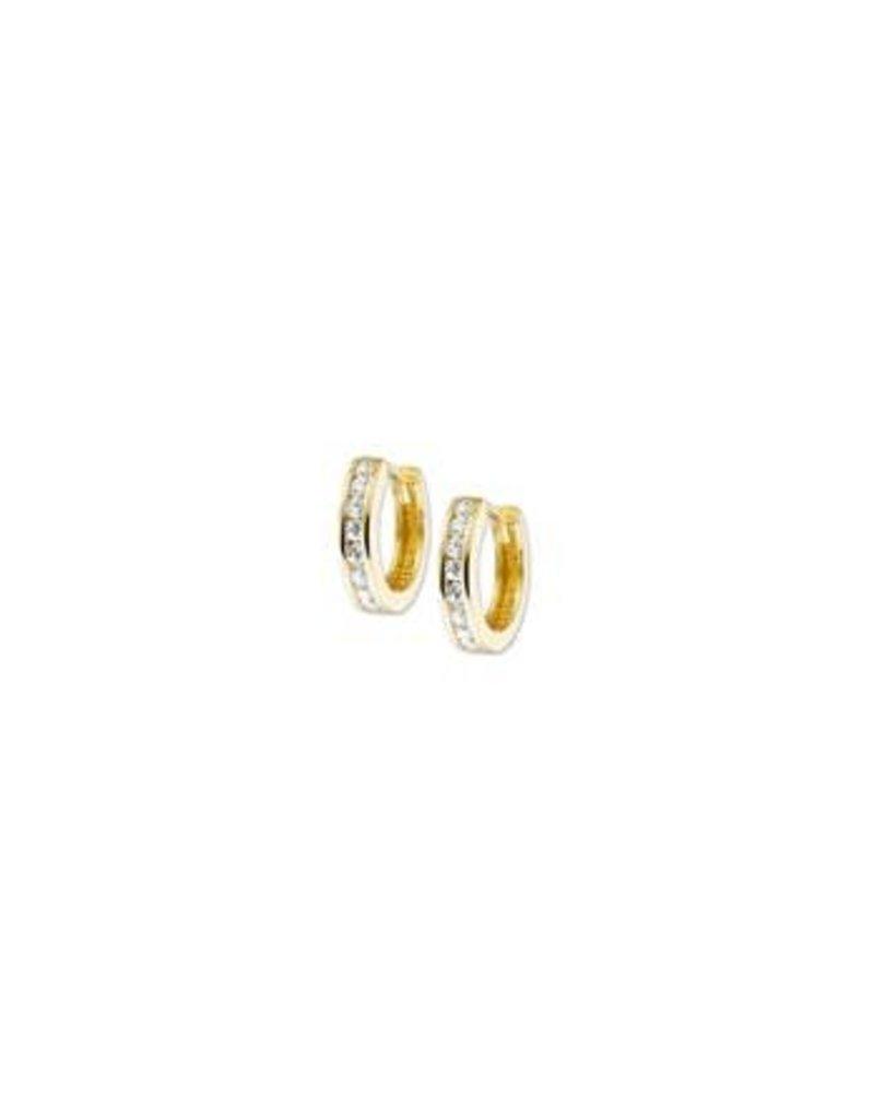 Huiscollectie - Goud Kasius 40.18311 oorbel goud met zirkonia