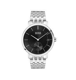 Hugo Boss Hugo Boss HB1513641 horloge Corporal heren staal zwart