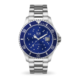 Ice Watch Ice Watch IW016773 horloge Staal Blue  Cosmos zilver