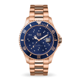Ice Watch Ice Watch IW016774 horloge Staal Blue Cosmos Rose