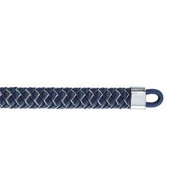 Tommy Hilfiger Tommy Hilfiger TJ2790060 armband blauw leer/staal